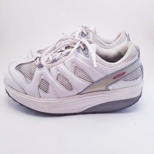 MBT Shoes - MBT womens 8 White Sport Sneakers Rocker 400167-16